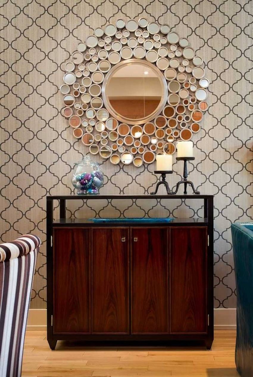 10 Perfect Ways To Combine Sideboards With Wall Mirrors With Sideboards With Mirror (View 2 of 15)