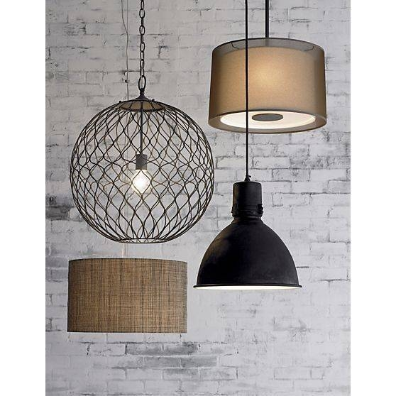 Inspiration about 121 Best Lighting Images On Pinterest | Glass Table Lamps, Table Pertaining To Crate And Barrel Pendants (#10 of 15)