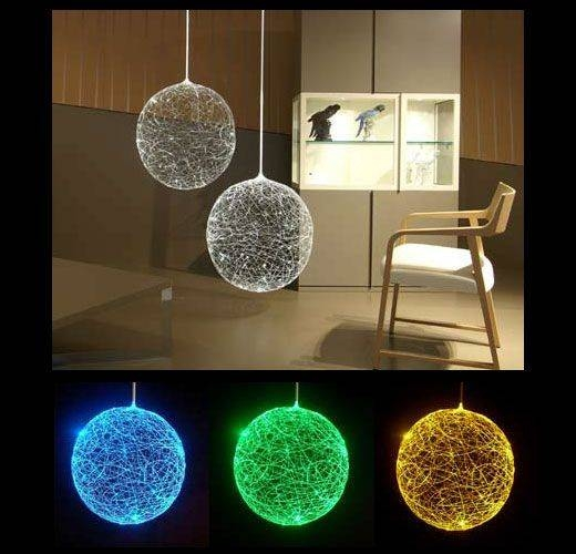 Inspiration about 127 Best Optic Fiber Images On Pinterest | Fiber, Costume Ideas Throughout Most Recent Fiber Optic Pendant Lights (#7 of 15)