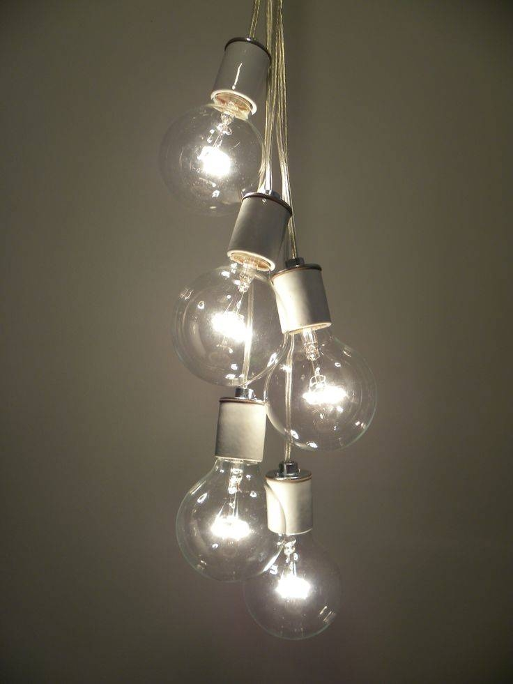 17 Best Edison Bulb Chandeliers Images On Pinterest | Edison Bulb Throughout Bare Bulb Cluster Pendants (View 2 of 15)