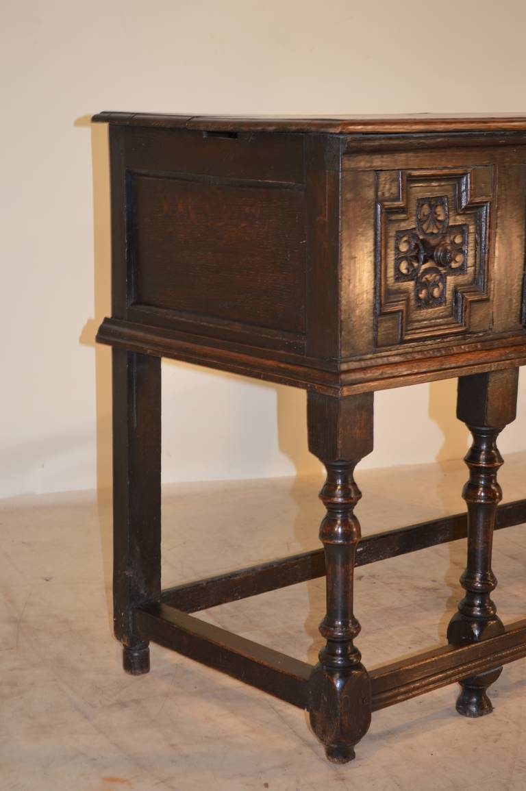 Inspiration about 17Th Century English Oak Geometric Sideboard At 1Stdibs Intended For Tuscany Sideboards (#15 of 15)