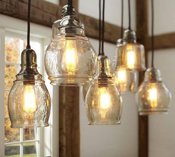 188 Best Best Of Pottery Barn Images On Pinterest | Pottery Barn Regarding Glass 8 Light Pendants (#1 of 15)
