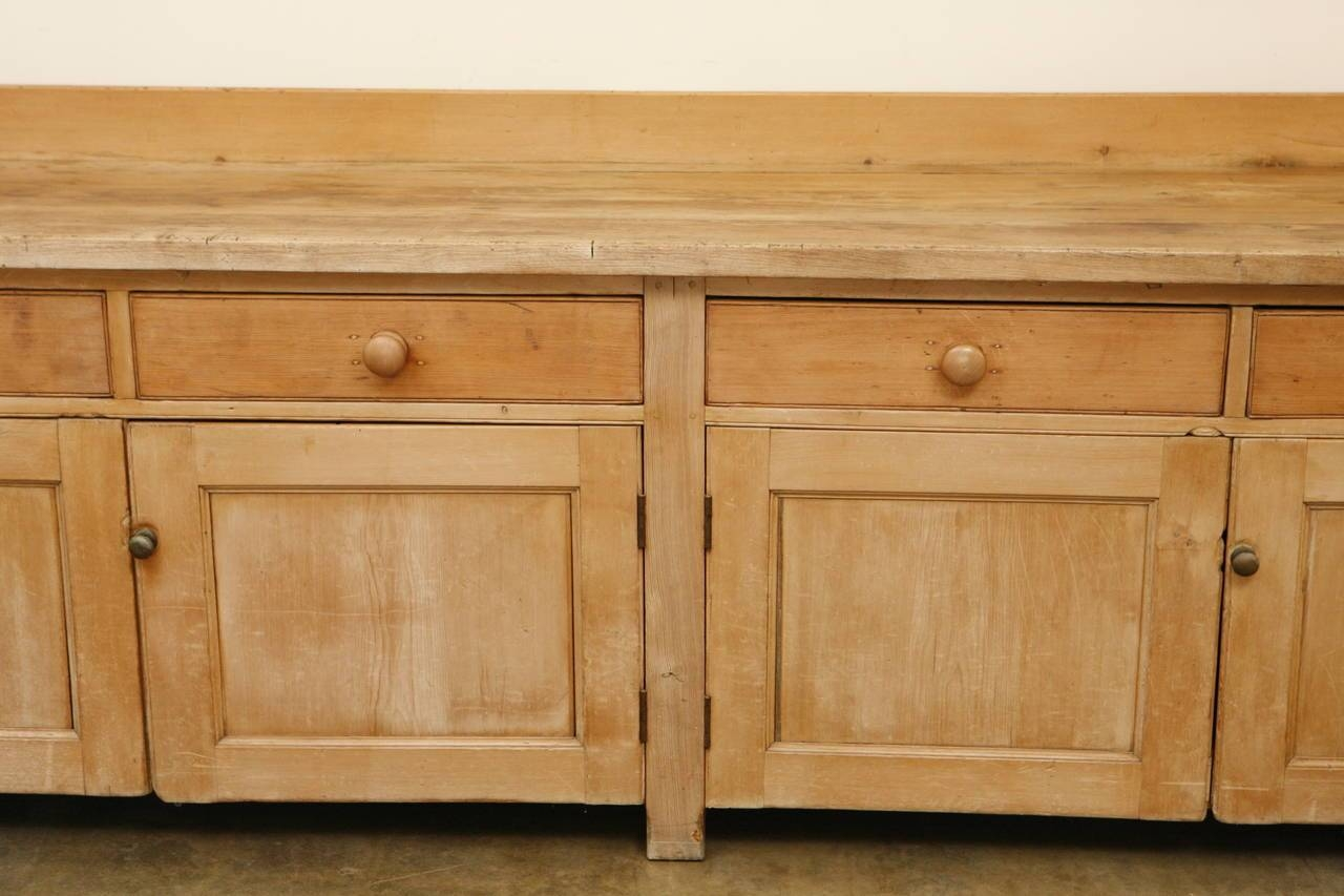 Inspiration about 18Th Century Large Pine Sideboard Or Buffet For Sale At 1Stdibs With Regard To Pine Sideboards And Buffets (#12 of 15)
