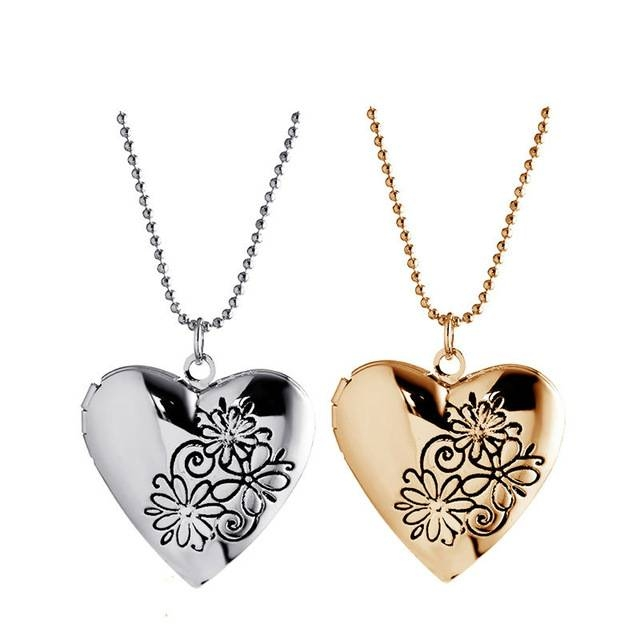 Inspiration about 2016 Miss You Special Open Romantic Rose Heart Pendants Fashion Pertaining To Most Popular Valentine Pendants (#4 of 15)