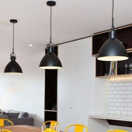 Inspiration about 27 Best Black Pendant Lights Images On Pinterest | Black Pendant With Regard To 2017 Black Pendant Lights (#6 of 15)