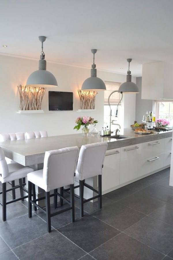 Inspiration about 30+ Awesome Kitchen Lighting Ideas 2017 With Regard To Most Popular Contemporary Kitchen Pendants (#8 of 15)