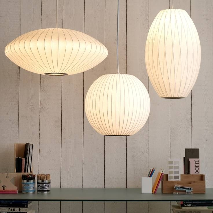32 Best George Nelson Bubble Lamps Images On Pinterest | George For Most Up To Date George Nelson Pendants (#1 of 15)