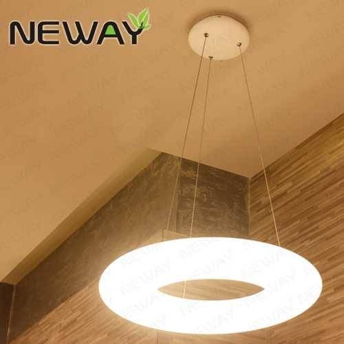 Inspiration about 360 Degree Modern Circular Hanging Lights Pendant Lighting,modern Regarding Newest Circular Pendant Lights (#15 of 15)