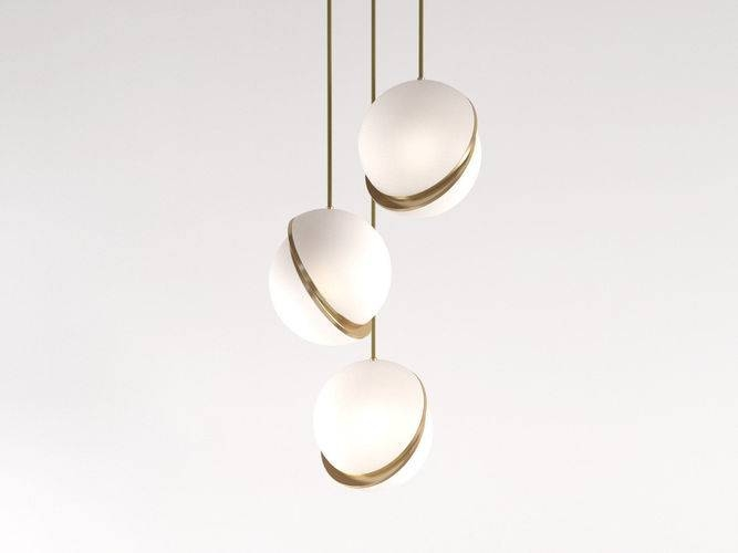 3D Crescent Pendant Light | Cgtrader Pertaining To Most Recently Released Crescent Pendant Lights (#3 of 15)