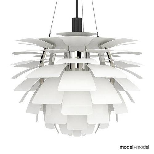 Inspiration about 3D Louis Poulsen Ph Artichoke Lamp | Cgtrader In 2018 Louis Poulsen Artichoke Pendants (#11 of 15)