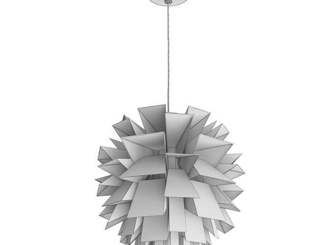 3D Model Norm 69 Pendant Lamp | Cgtrader Throughout Most Recent Norm 69 Pendant Lights (#4 of 15)
