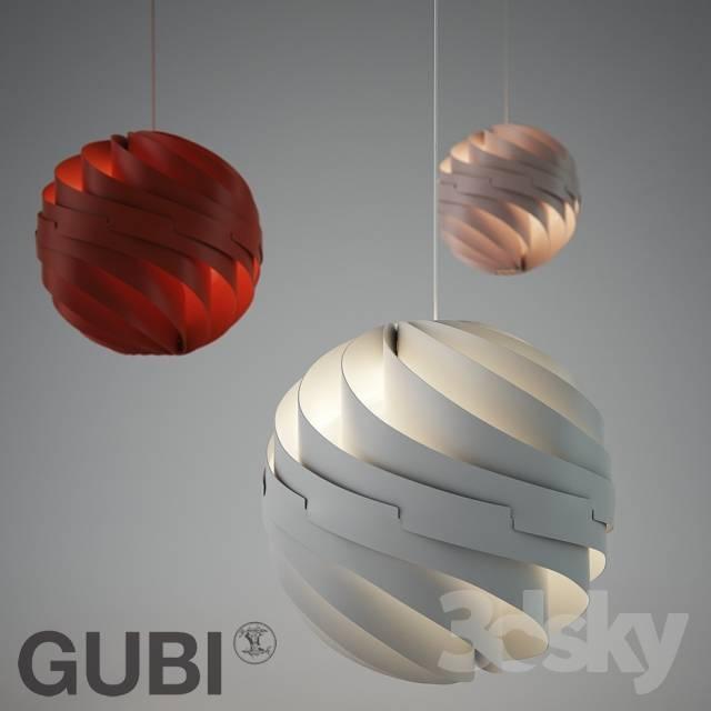 3D Models: Ceiling Light – Gubi / Turbo Pendant Llouis Weisdorf Intended For Latest Gubi Turbo Pendants (#2 of 15)
