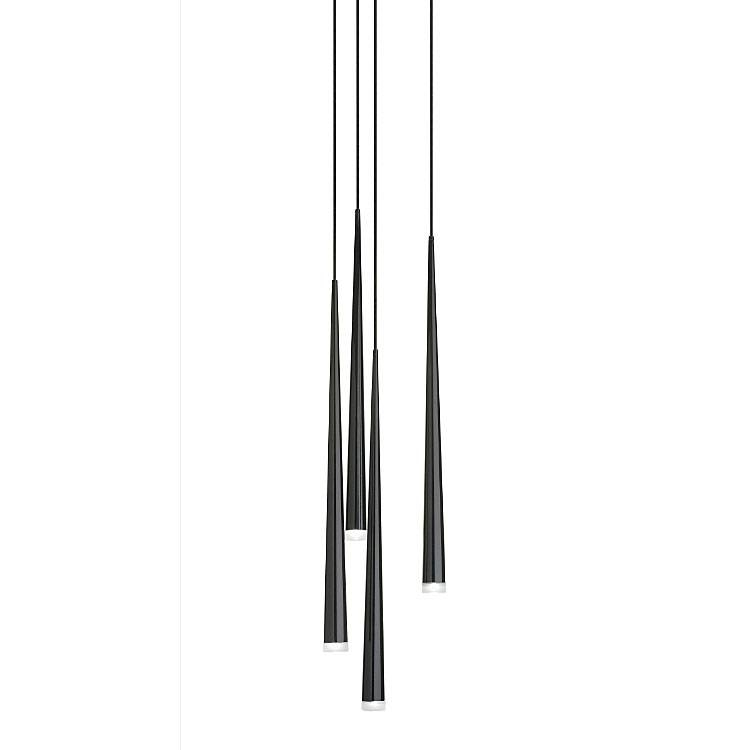 Inspiration about 4 Light Pendantvibia | 0917 04 Within Newest Vibia Slim Pendants (#1 of 15)