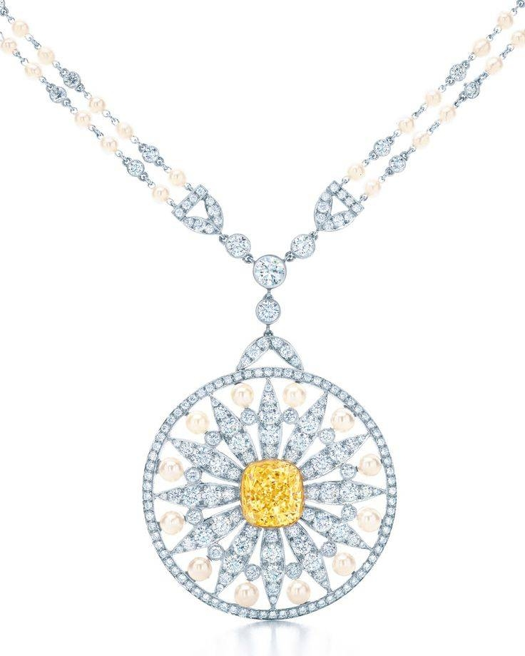 494 Best Tiffany Images On Pinterest | Jewelry, Jewels And Tiffany With Regard To Most Up To Date Tiffany Sun Pendants (#6 of 15)