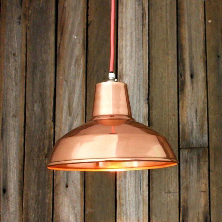 Inspiration about 51 Best Copper Images On Pinterest | Copper, Cabinets And Marbles Within Best And Newest Copper Shade Pendant Lights (#5 of 15)