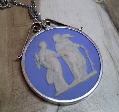 Inspiration about 51 Best Wedgewood Jasperware Jewelry Images On Pinterest   Antique Intended For Most Popular Wedgewood Pendants (#3 of 15)
