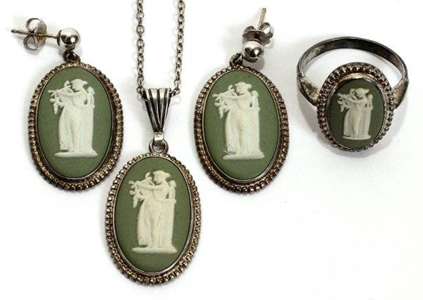 Inspiration about 51 Best Wedgewood Jasperware Jewelry Images On Pinterest | Antique Intended For Most Recently Released Wedgewood Pendants (#8 of 15)