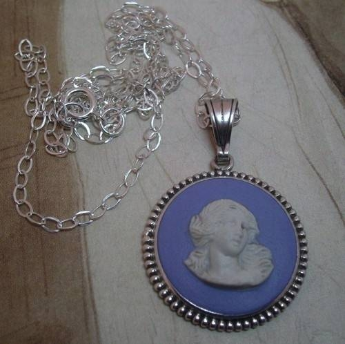 Inspiration about 51 Best Wedgewood Jasperware Jewelry Images On Pinterest | Antique Pertaining To Recent Wedgewood Pendants (#2 of 15)