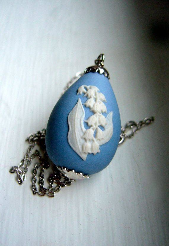 Inspiration about 51 Best Wedgewood Jasperware Jewelry Images On Pinterest | Antique Within Best And Newest Wedgewood Pendants (#4 of 15)