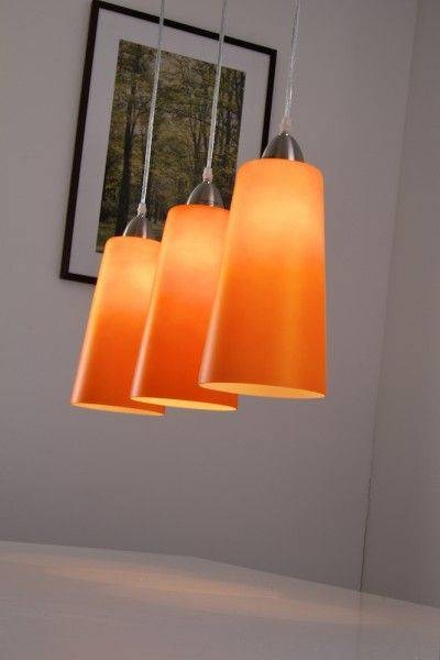 Inspiration about 54 Best Orange Pendant Lights Images On Pinterest | Pendant Lights Within Current Orange Pendant Lamps (#9 of 15)