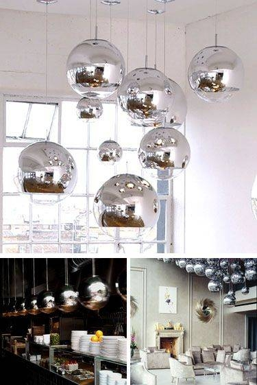 Inspiration about 63 Best Amazing Lights Images On Pinterest | Interior Lighting For Most Popular Tom Dixon Mirror Ball Pendant Lights (#9 of 15)