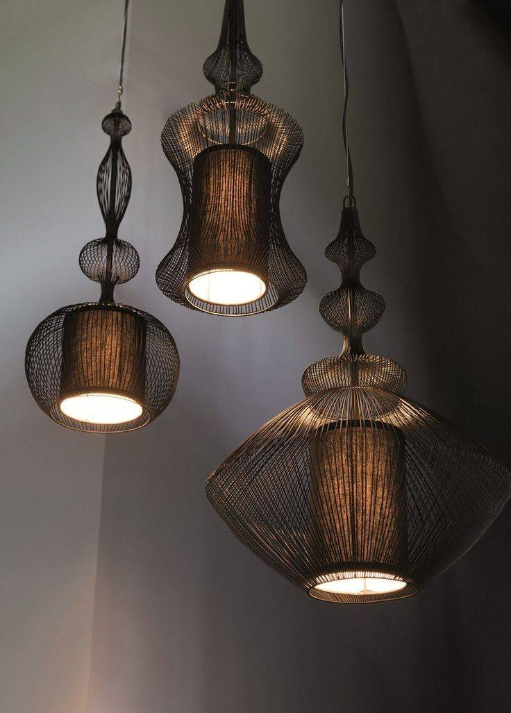 821 Best Lamps Images On Pinterest | Wooden Lamp, Lighting Design Within Most Up To Date Pendant Lighting Designs (#5 of 15)
