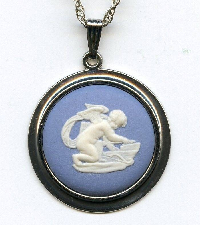 Inspiration about 94 Best Wedgewood Images On Pinterest   Antique Jewelry, Porcelain Intended For Recent Wedgewood Pendants (#6 of 15)