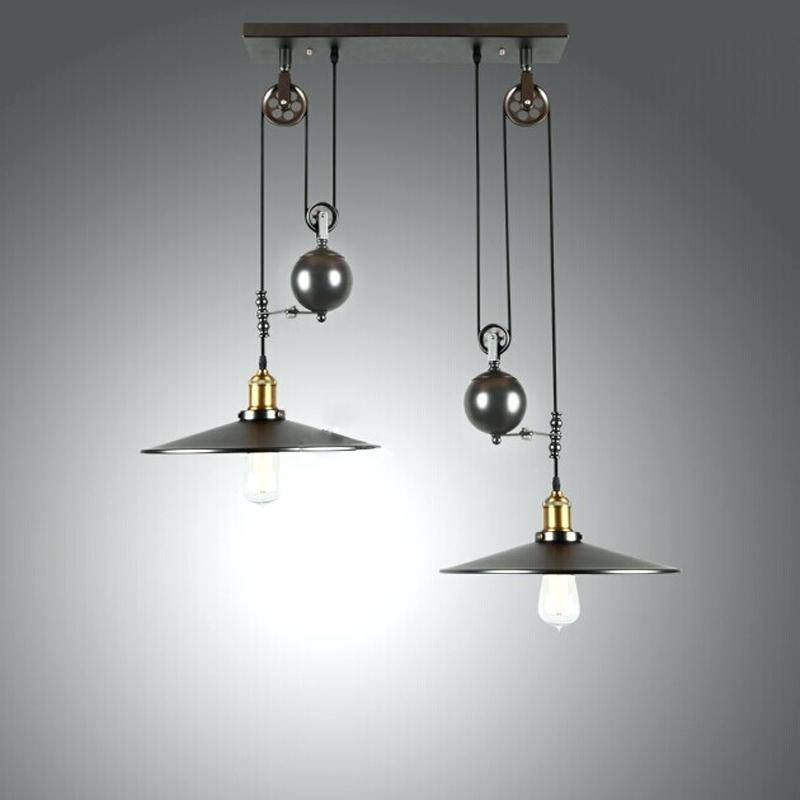 Adjustable Pendant Lighting – Runsafe Throughout Adjustable Pulley Pendant Lights (View 3 of 16)