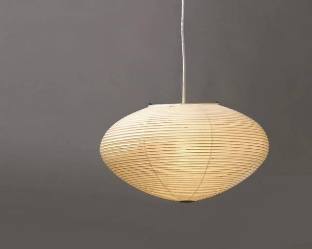 Akari Noguchi 15A 21A 26A Lamp : Surrounding Pertaining To 2017 Noguchi Akari Pendants (#3 of 15)