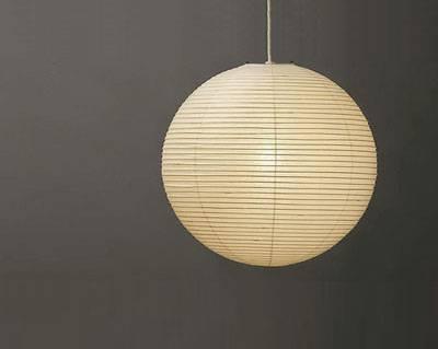 Akari Noguchi Lamps 30A 45A 55A 75A : Surrounding For Recent Noguchi Akari Pendants (#5 of 15)