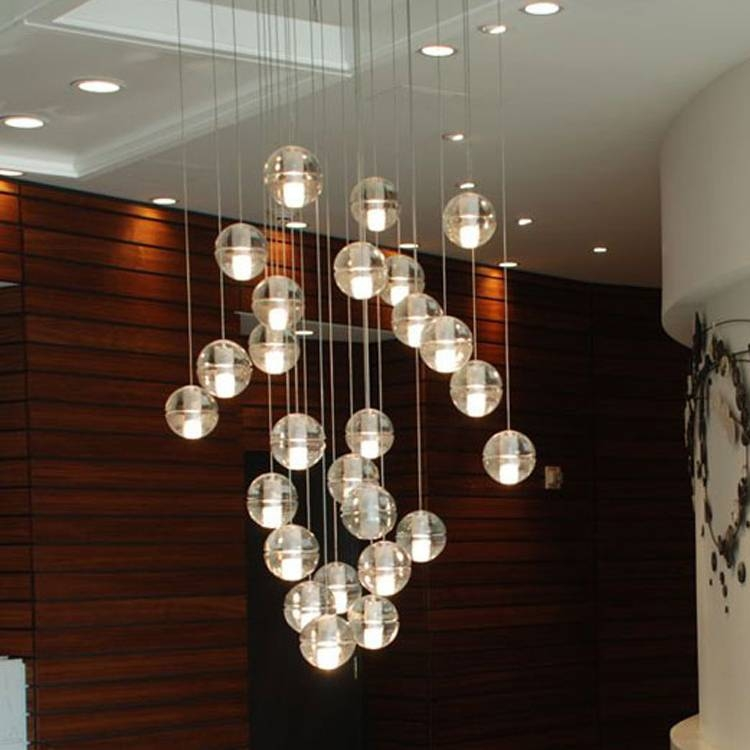 Aliexpress : Buy 14 14.1 Single Pendant Chandelier Suspension With Most Recent Bocci  (#7 of 15)