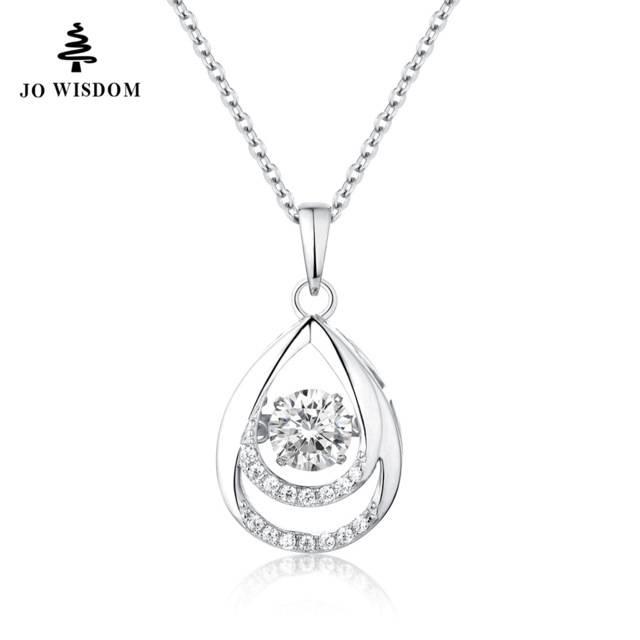 Aliexpress : Buy Jo Wisdom 925 Sterling Silver Pendants Regarding Best And Newest Dancing Pendants (View 9 of 15)