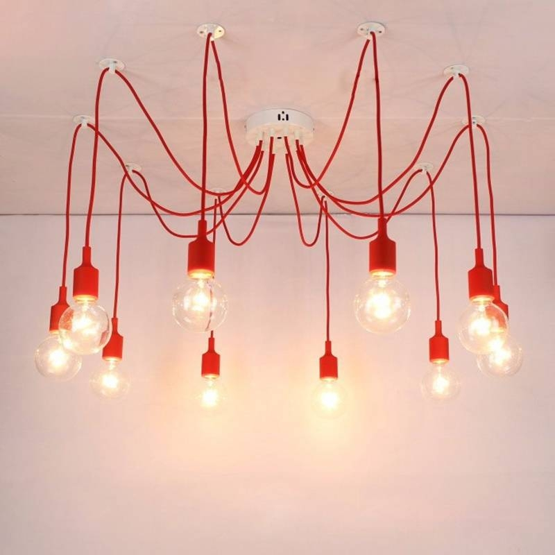 Aliexpress : Buy Lukloy Pendant Light, Spider Light Drop With Most Current Rubber Pendant Lights (#5 of 15)