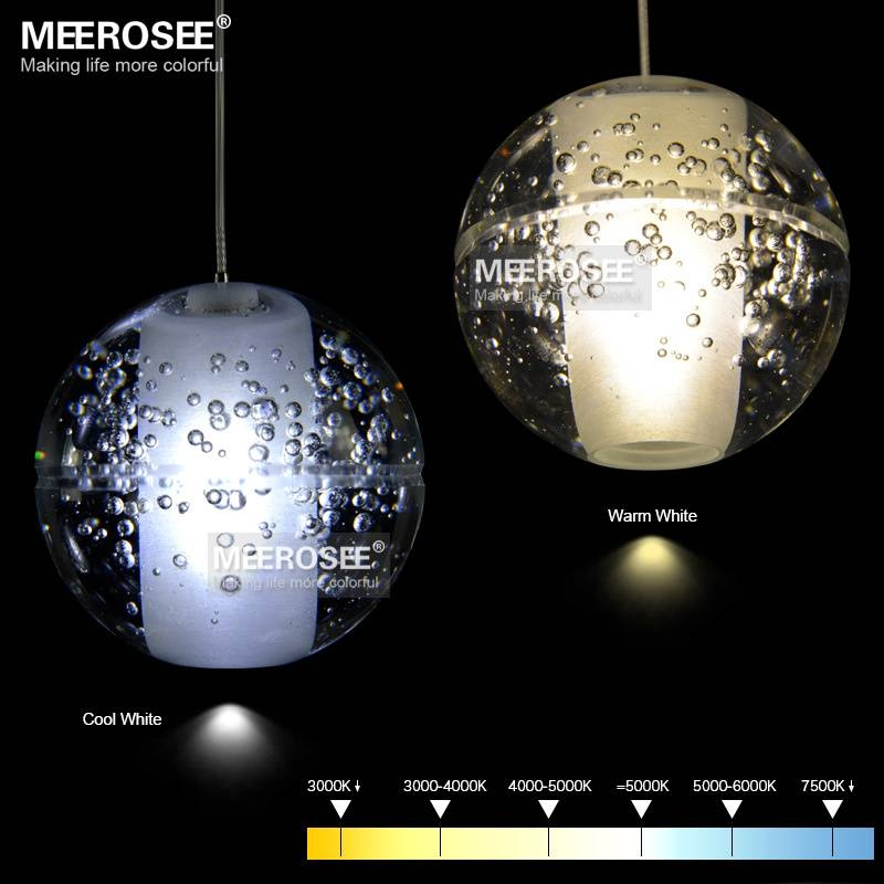 Aliexpress : Buy Modern Decoration Led Crystal Bubbles Ball Inside Most Up To Date Crystal Led Pendant Lights (View 13 of 15)