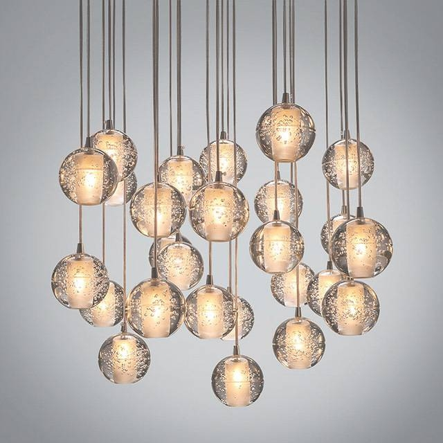 Aliexpress : Buy Modern Led Crystal Chandelier Magic Crystal Within Most Current Ball Pendant Lights (View 1 of 15)