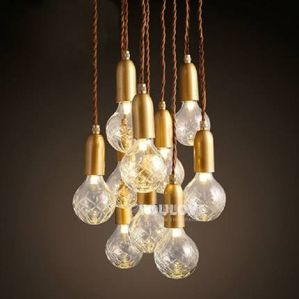 Aliexpress : Buy Modern Multi Bulbs Droplights Nordic Home Throughout Most Current Multi Bulb Pendant Lights (View 5 of 15)