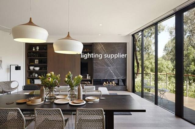 Popular Photo of Modern Pendant Lighting For Dining Room