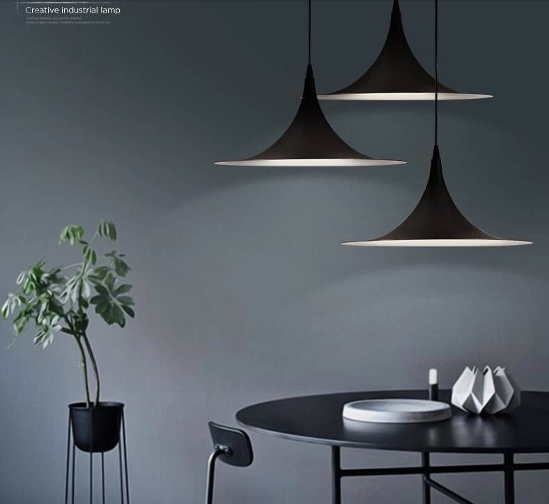 Aliexpress : Buy Nordic Semi Fog Morup Pendant Lamp American Pertaining To Newest Semi Pendant Lamps (#7 of 15)