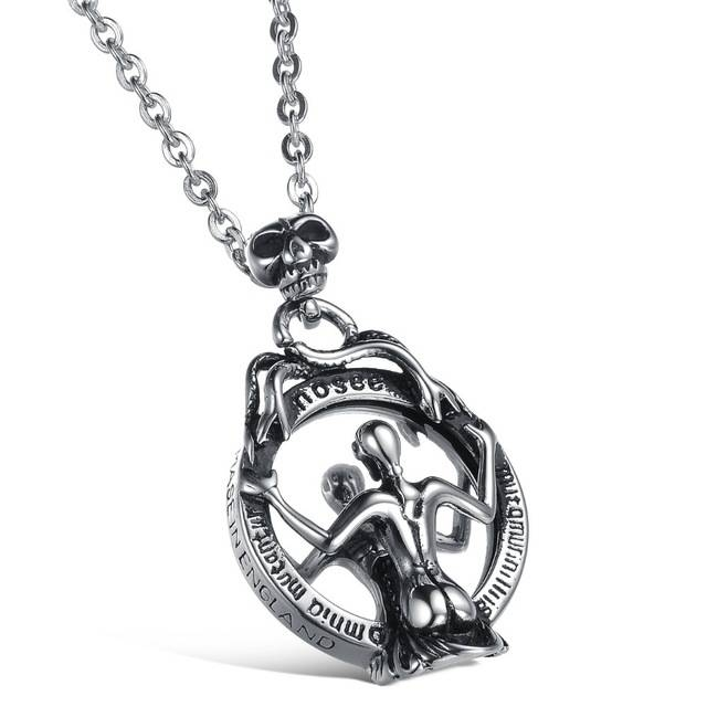Aliexpress : Buy Super Cool Mirror Skeleton Snake Pendant Pertaining To Latest Mirror Pendants (#2 of 15)