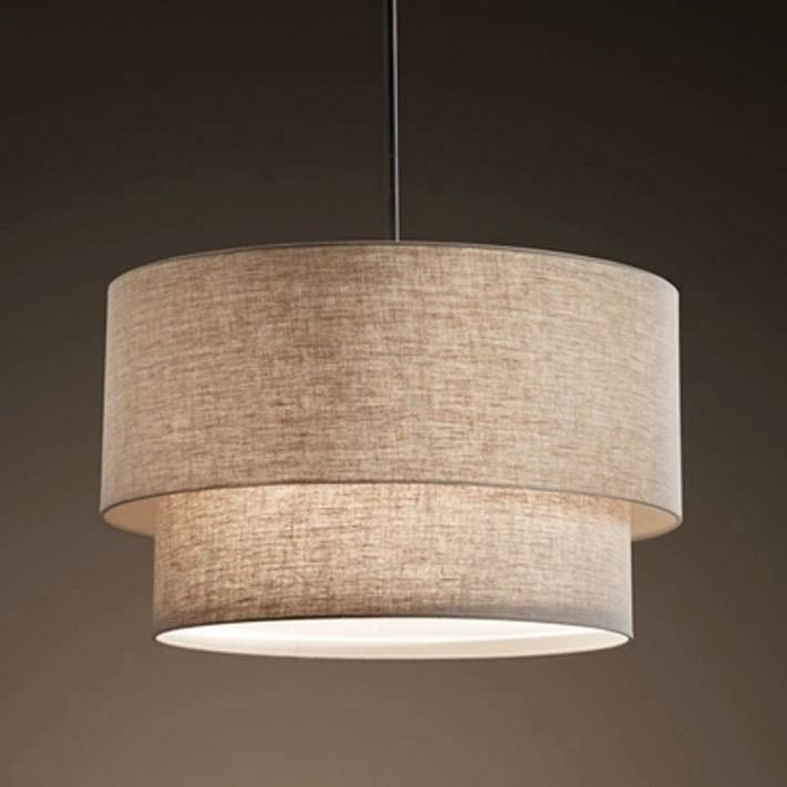 fabric pendant lighting. Aliexpress : Buy With Flax Fabric Canvas Linen Ligen Shade Big Regard To Most Up Pendant Lighting R