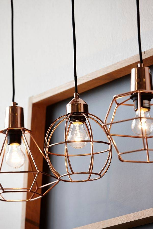 Alluring Copper Pendant Light Kitchen And Best 10 Copper Lighting With  Regard To Most Recently Released