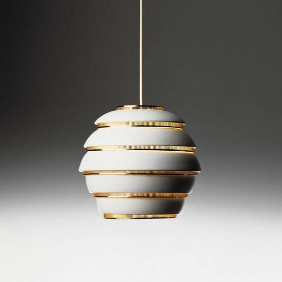 Alvar Aalto Pendant Lamp A331 With Regard To Most Popular Alvar Aalto Pendants (View 4 of 15)