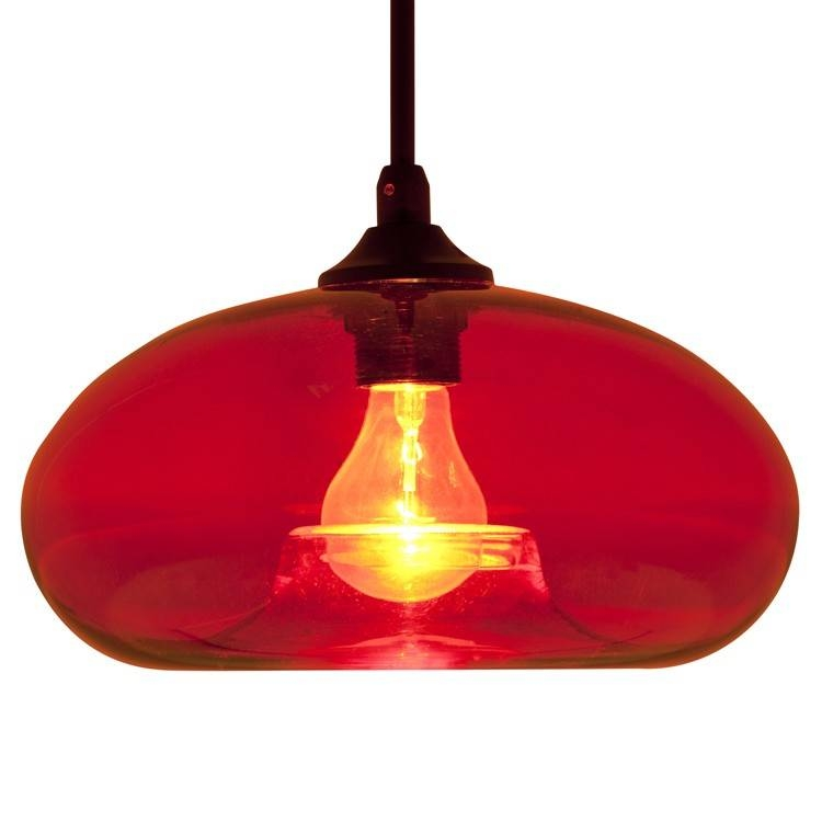 Amazing Red Pendant Light Red Glass Pendant Light Soul Speak Intended For 2017 Red Glass Pendant Lights (#1 of 15)