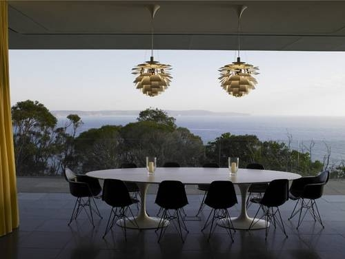 Artichoke Pendant – Modern – Deck/patio – Richard Powers Photography Pertaining To Latest Artichoke Pendants (View 4 of 15)