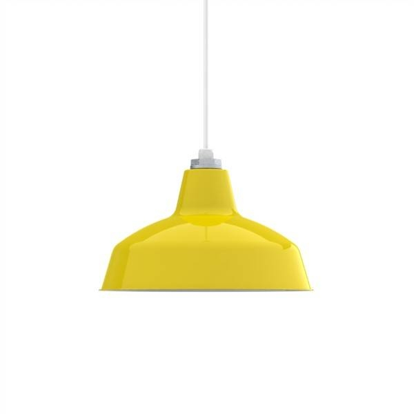 Ashland Led Pendant Light | Barn Light Electric For Current Yellow Pendant Lights (View 2 of 15)