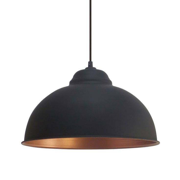 Attractive Black Pendant Light Fixtures 17 Best Ideas About Copper In Newest Black Pendant Lights (#3 of 15)