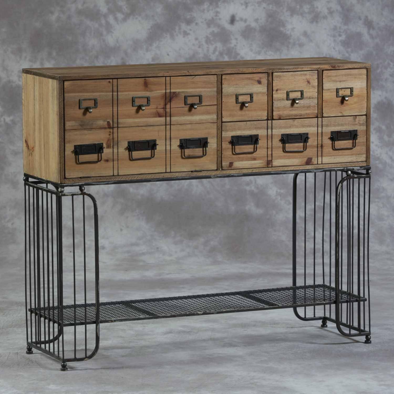 Awesome Buffet En Metal Ideas – Transformatorio Regarding Metal Sideboard Furniture (#1 of 15)