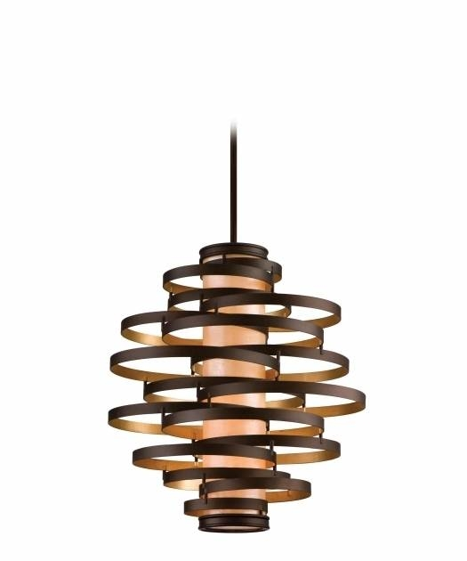 Awesome Corbett Lighting Ve 44 Vertigo 30 Inch Wide 4 Light Large Intended For Newest 30 Inch Pendant Lights (View 7 of 15)