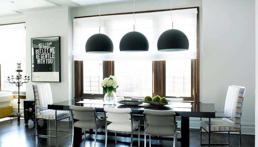 Awesome Dining Room Pendant Lights Cheap To Chic Black Pendant Inside Newest Dining Pendant Lights (#1 of 15)