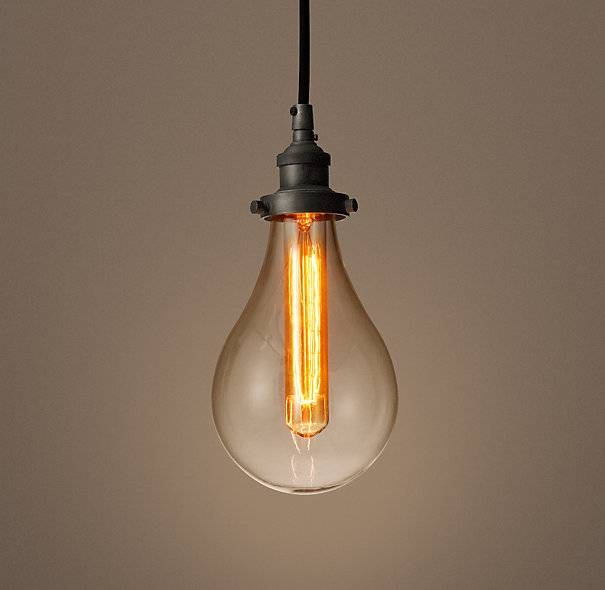 Bare Bulb Lighting – Youthfulnest Within Bare Bulb Filament Single Pendants (View 2 of 15)
